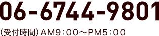 TEL:06-6744-9801