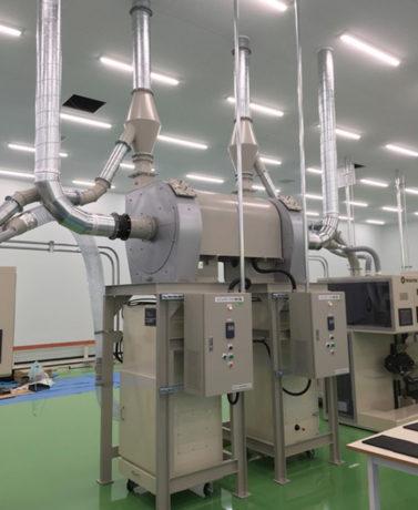 エジェクター空気輸送装置